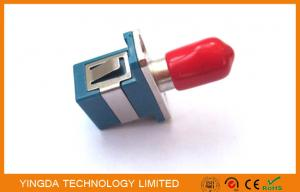 China Multimode Hybrid Fiber Optic Adapter SC - ST Connector With Ceramic Sleeve on sale