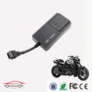 China Accurate Motorcycle GPS Tracker Anti Theft , Built-in Vibration Sensor on sale