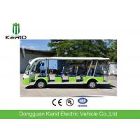 72V / 5KW Curtis Controller Electric School Bus / 14 Seater Electric Shuttle Car