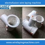 PPR ISO 15874 Electro fusion fittings wire laying machine