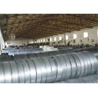 Heavy Zinc Coated Spiral Razor Barb Wire Mesh 500mm Outside For Privatd Area
