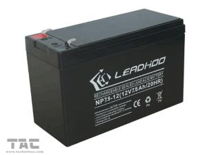 China 12V  Battery Pack  12V 7.5ah Seal Lead Acid Battery Pack For Solar Lighting on sale