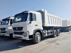 China Sinotruk A7 Dumper Heavy Duty Dump Truck 10 Wheelers  18m3 Bucket Volume on sale