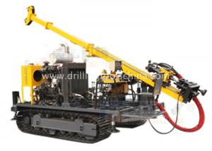 China Yellow Fully Hydraulic Drilling Rig Split Type Strong Disintegration Capacity on sale