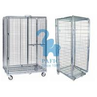 5pcs Wire Mesh Enclosures Delivery Roll Cages Power Coated Surface