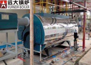 China 2Tph Diesel Oil Fire Tube Steam Boiler Low Pressure For Brewery Factory on sale