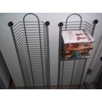 CD Metal Tall Narrow Wire Shelving Tower With Extra Large Storage Capacity