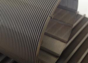 China 0.1mm Slot Rotary Wire Mesh Cylinder 76mm Diameter For Wastewater Treatment on sale