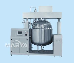China Hydraulic Lifting Vacuum Emulsifier PLC Control on sale