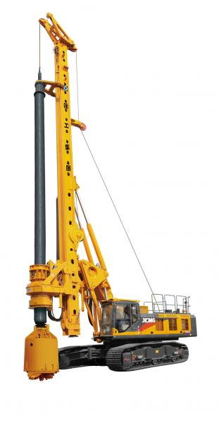 XCMG XR280 DII rotary drilling machine with cummins engine