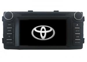 China Toyota Hilux 2012-2015 Centrais Multimedia Android 9.0 Car GPS Navigation Head Unit with GPS TYT-6909GDA(Black) on sale
