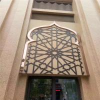 Cooper  Metal Laser Cut Panels Color stainless steel screens For Hotels Villa Lobby Decoration 304 316