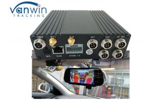 China Security CCTV Night Vision camera H.264 256GB SD Card MDVR , GPS 3G WIFI Video Recording DVR for Bus on sale