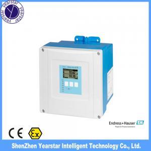 China Endress Hauser/ Ultrasonic water level sensor FMU90 transmitter/ bulk solids,liquid,oil level gauge sensor on sale