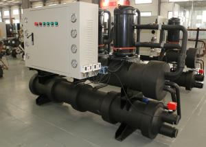 China Textiles Water To Water Heat Pump , Pool Heating Hot Water Heater Pump on sale