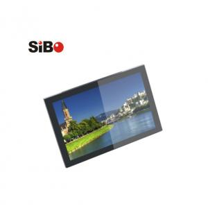 China Wall mounting tablet pc LCD panel with big speaker tunnel for building intercom on sale