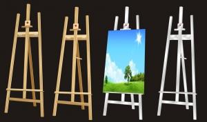 China wooden standing easel,kins drawing easel on sale