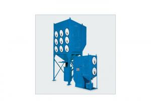 China High Filtration Downflow Cartridge Dust Collector ,  Horizontal Industrial Dust Collector Welding Fume on sale