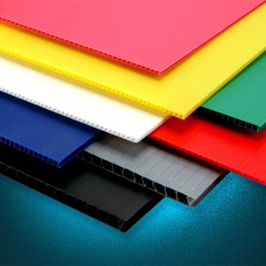 China PP Hollow Sheet , Corrugated Plastic Sheets, Corrugated Plastic Board on sale