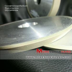 China 1V1 resin bond diamond grinding wheel for Oxide ceramic materials on sale