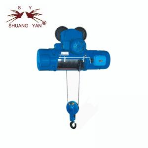 China Single Speed Travelling Electric Wire Rope Hoist Advanced Mechanical Design on sale