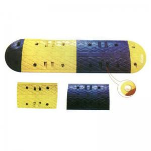 China heavy-duty and crush-resistant rubber speed hump on sale