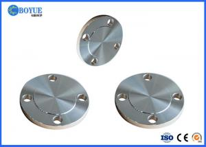 China Nickel Alloy Blind Pipe Flanges , Forged Steel Blind Flange Thickness SCH160 on sale