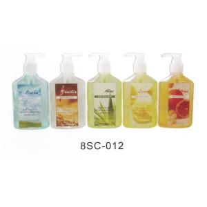 China Rose Hand Washing Liquid Soap , Hotel Waterless Hand Sanitizer 8SC-012 on sale