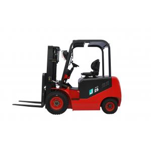 AC Drive Battery Powered Forklift , 4 Wheel Electric Forklift 2.5 Ton Lifting Capacity