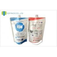 Floor Cleaner Packing Stand Up Pouch With Spout 250ml / 500ml / 1000ml