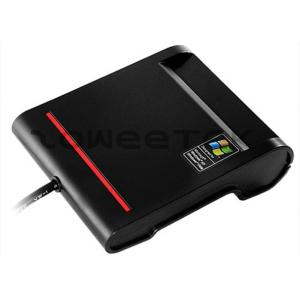China USB ID - Single Contact Smart Card Reader  Support ATM / CAC Card & other IC Cards(ZW-12026-2-Black)  on sale