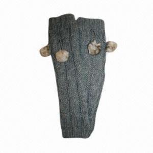China Ladies arm warmer, made of 100% acrylic on sale