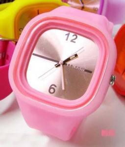 China Candy Sports Watch fashion Watch RUBBER Wrist Watch WOMAN Watch! on sale