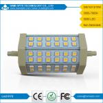 led R7S Light SMD5050 8W 118MM ce rohs replace Halogen lamp AC85-265V