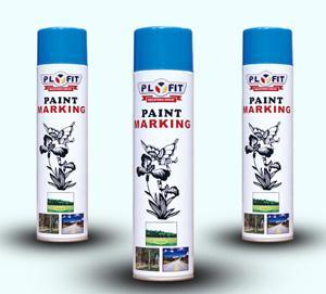 China Line marking organic silicone anti heat resin Spray Paint Aerosol for interior decoration on sale