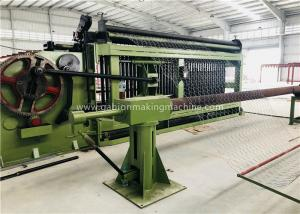China Industrial Gabion Production Line Double Twist Automatic Wire Mesh Welding Machine on sale