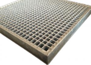 China Decorative Lightweight Carbon Steel Bar Grating , Galvanised Flat Bar Grating on sale