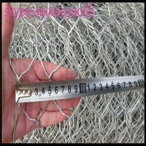 China le gabion de maillage de soudure de fournisseur ou le tapis ou le gabion Mattress/PVC de gabion ont enduit le panier galvanisé plongé chaud de Gabion de boîte de gabion on sale