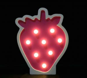 China Pretty ice cream led lamp wooden night lighting baby room decorative wood crafts on sale