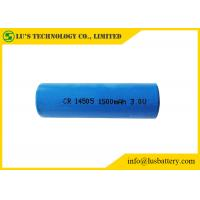 China 3V Lithium Primary Battery AA Size 1500mah , CR14505 Lithium Battery on sale