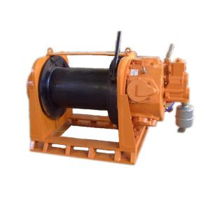 China Hydraulic Electric Air Winch With Heavy Duty Low Speed Wire Rope Sling Type 5T on sale