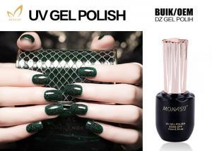 China Super Flash Burgundy Gel Nail Polish , Private Lable Gel Finger Nail Polish on sale