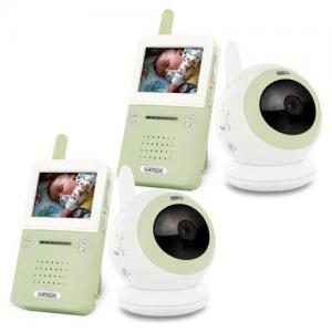 China 7 LCD Wireless Signal Baby Monitor with 1 Pcs Dual CCTV Camera/Audio & Video/Day & Night on sale