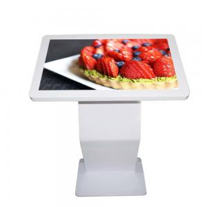 China 32 Inch Interactive Touch Screen Kiosk Commercial Android System Infrared Touch on sale