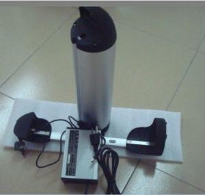 China batería eléctrica de la bicicleta de 36V 10Ah, batería del ebike de 350watts 800watts, tipo de la botella on sale