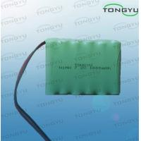7.2V 1000mAh Nimh Rechargeable Battery AA size With Cables For Emergency Lights