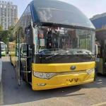 Used Yutong Buses ZK6122 47 VIP Seats With Toilet Double Doors Weichai Engine 247kw