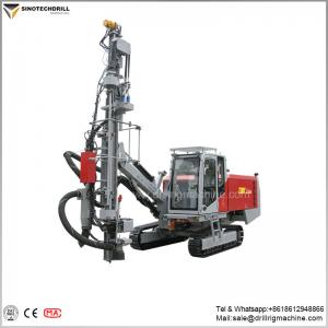 China Full Hydraulic Surface Drill Rigs , High Power / Pressure Drilling Rig Machine on sale