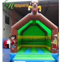 China Rent Happy Hop Inflatable Jumping Castle For Children PVC EN14960 on sale