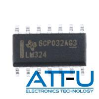 China 4 Circuit High Gain Audio Power Amplifier IC LM324DR For DVD Recorders / Players on sale